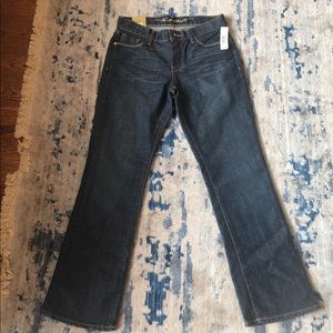 NWT Old Navy The Sweetheart Bootcut Jeans Sz 4S